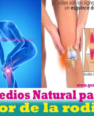 Remedios Natural para el dolor de la rodilla
